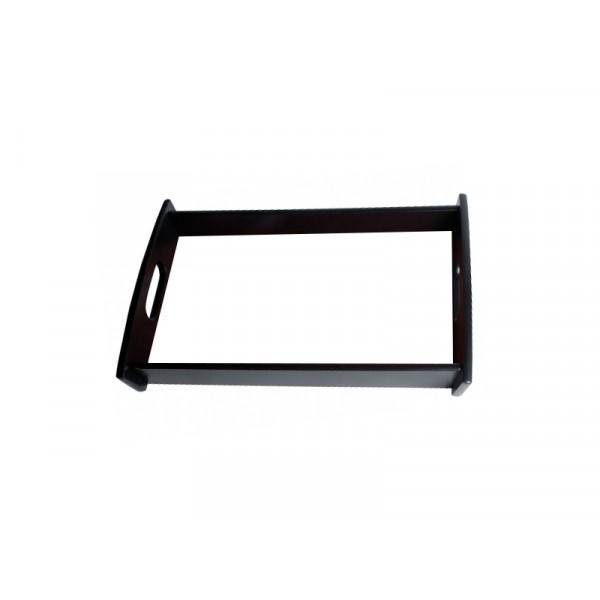 Tablett mit eigenem Foto (schwarz)