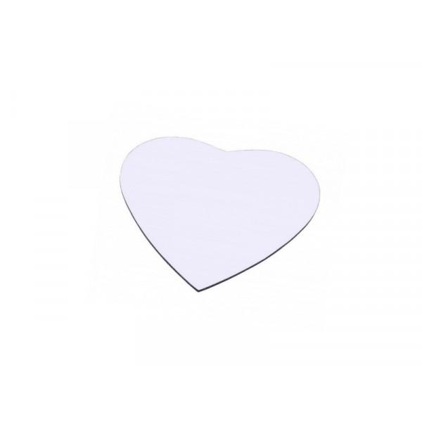 Mousepad selbst gestalten (Herzform)